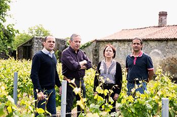 Famille Lechat Viticulteurs en 2015